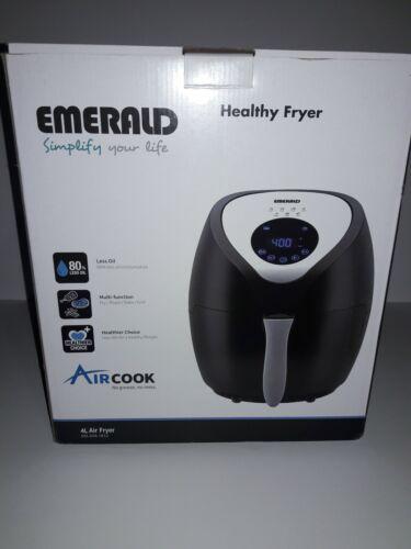 Emerald Air Fryer w/ Digital LED Touch Display 1400 Watts Mu