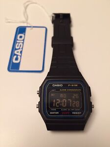 In 1991 Casio releases the now  F-91W digital watch