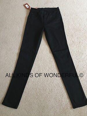 James Jeans High Class Twiggy in Flat Black RRP£190 BNWT