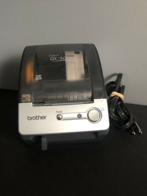 Brother P-Touch QL-500 Thermal Label Printer + Labels