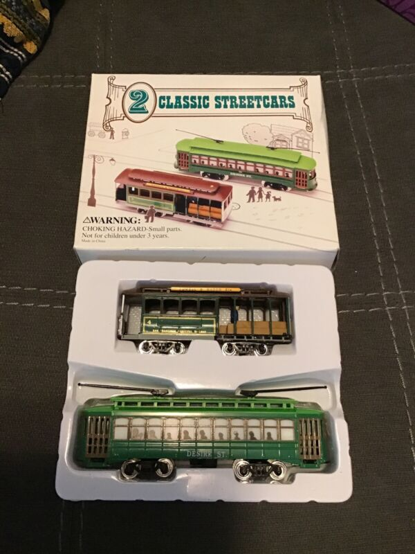 Streetcars-2 classic-A Streetcar Named Desire/New Orleans/Movie New!!