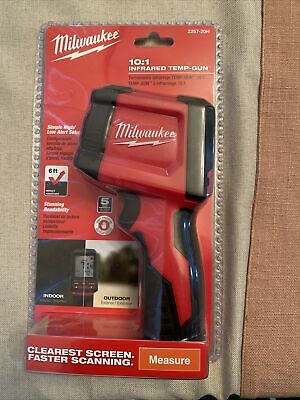 Milwaukee 2267-20h 101 Infrared Thermometer Lcd Display Temperature Gun-nisp Fs