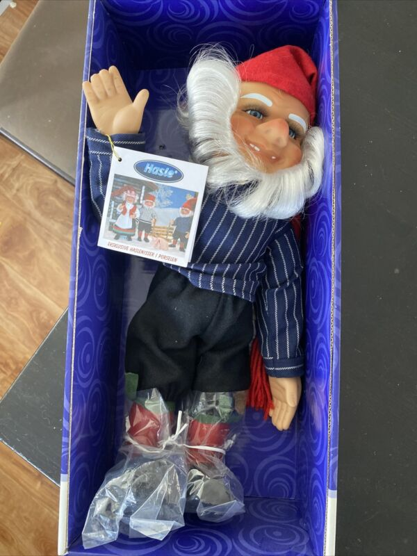 arne hasle gnome  15 Inch From Porcelain Collectors. Not Poseable. New But Opend