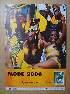 WORLD CUP 2006- MODE 2006 (GERMANY DEUTSCHLAND): Sport Postcard