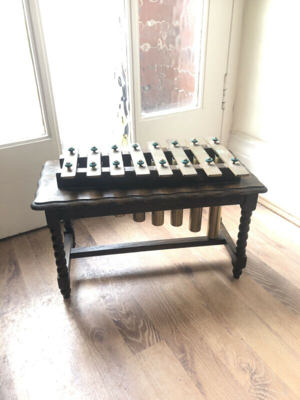 Antique Xylophone Dinner Gong