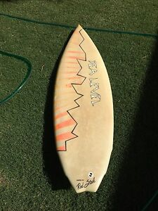 Vintage quad fin channel bottom surfboard Clifton Springs Outer Geelong Preview