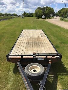 2007 26' PJ deck over trailer
