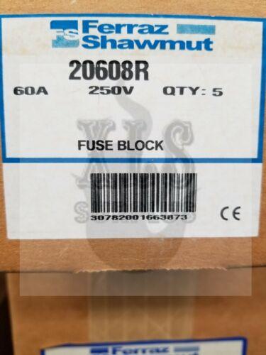 FUSE BLOCK 20608R FERRAZ SHAWMUT