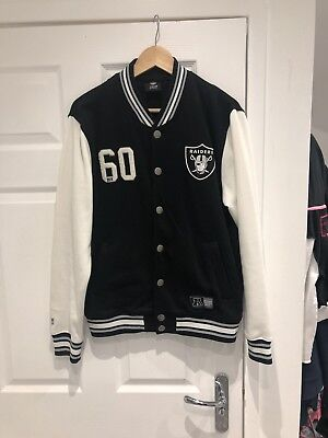NFL Team Apparel RAIDERS team Jacket Size Medium 🏉 for sale  Shipping to South Africa