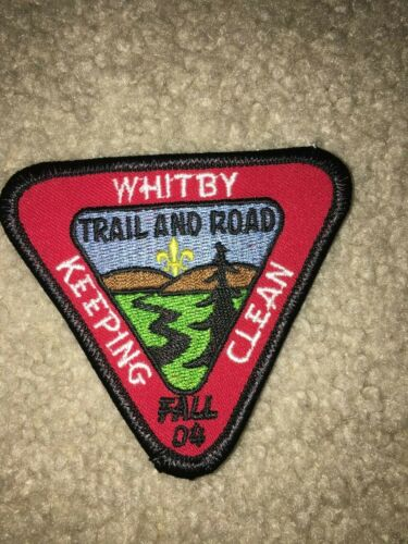 Boy Scout BSA Fall 2004 Whitby Triangle Great Lakes Ontario Canada Trail Patch