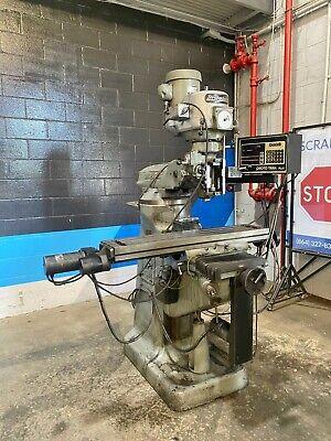 Bridgeport Milling Machine 9 X 421-12 Hp