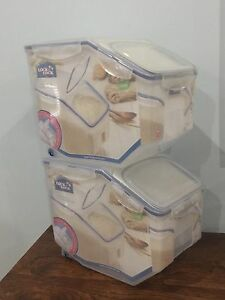 Brand New 12L storage Food Containers x 2 Anna Bay Port Stephens Area Preview