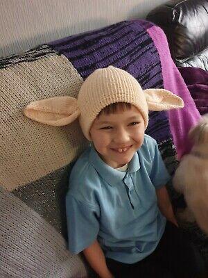 Harry potter 8years+ Easter/birthday gift.Dobby Hat Fancy dress - Dobby Elf Kostüm