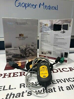 Philips Heartstart Mrx Q-cpr Meter 453564257691 And Cable 989803158661 Certified