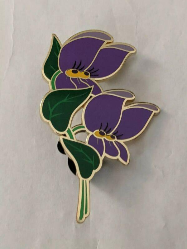 Purple Violettes Eleonore Bridge Alice In Wonderland Collection DLP LE400 Pin