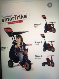 Smartrike 4 in 1 tricycle