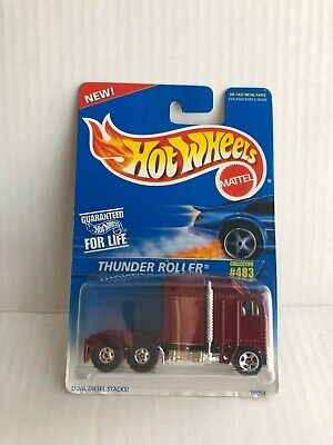 Hot Wheels Thunder Roller Collector #483 Red D5