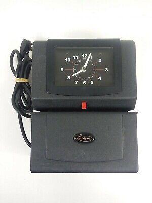 Lathem 4001 Time Clock Heavy Duty Time Recorder Missing Key