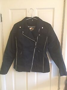Women's Motor Cycle Scooter Jacket Waterproof Size 14 Five Dock Canada Bay Area Preview