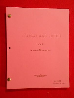 Script from the 1970's TV series Starsky & Hutch