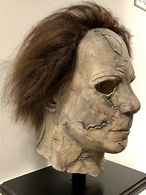 Custom Rehauled MICHAEL MYERS H1 HALLOWEEN Mask By Rob Zombie 1 Of A Kind! - Michael Myers Rob Zombie Mask