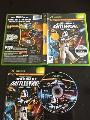 STAR WARS BATTLEFRONT II on MICROSOFT XBOX ORIGINAL USED COMPLETE