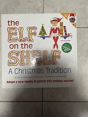 NIB Elf on The Shelf a Christmas Tradition Toy Figure Brown Eyed Girl