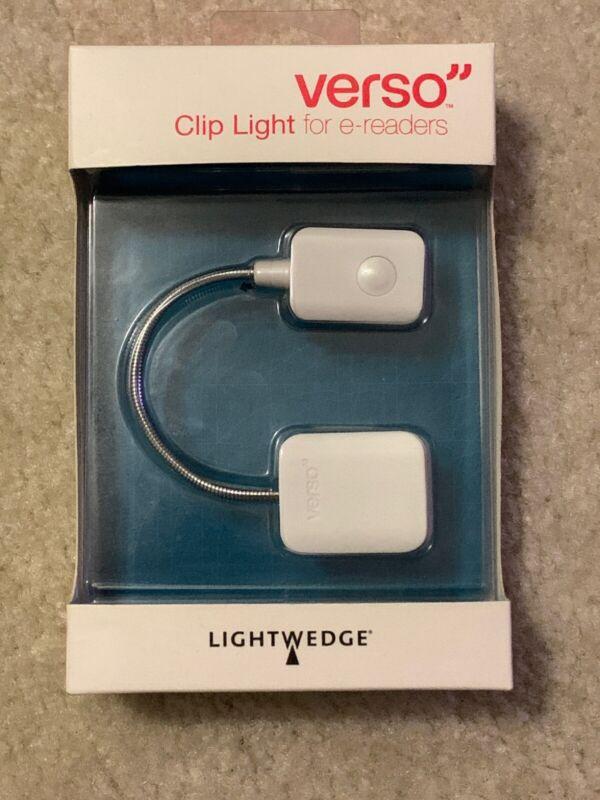 BRAND NEW Verso Clip Light for E-readers (white)