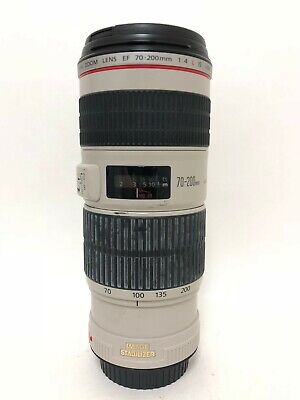 Canon Zoom Lens EF 70-200mm 1:4 L IS USM - Used