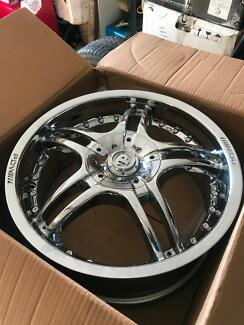 PDW/// 17 INCH CHROME RIMS WORTH OVER $2200 SEXY RIMS CHEAP $$$$