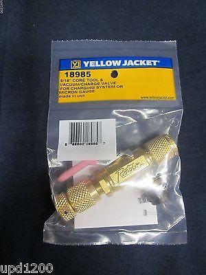 Yellow Jacket 516 Vacuumcharge Valve W Side Port 18985