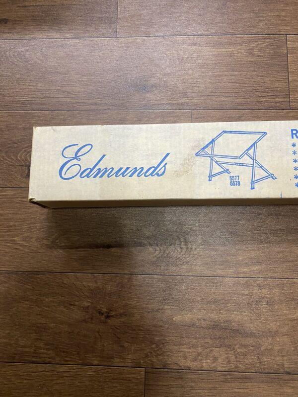 Vintage NIB Edmunds Rug Frame W/Stand 5578 Adj Working Area 39x29 Made 12/6/1979