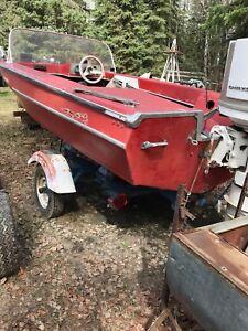 1980 fireball and boat trailer