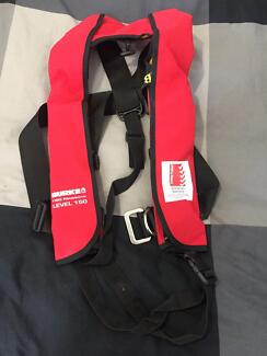 Burke 150N Manual PFD as new condition