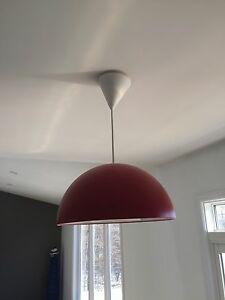 Ikea pendant light.