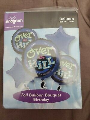 Over The Hill Balloons (Over the Hill Foil Balloon Bouquet)