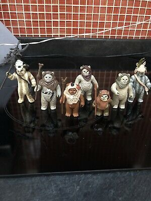 vintage star wars job lot Ewoks