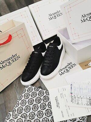 Alexander Mcqueen Trainers white & black Size 6