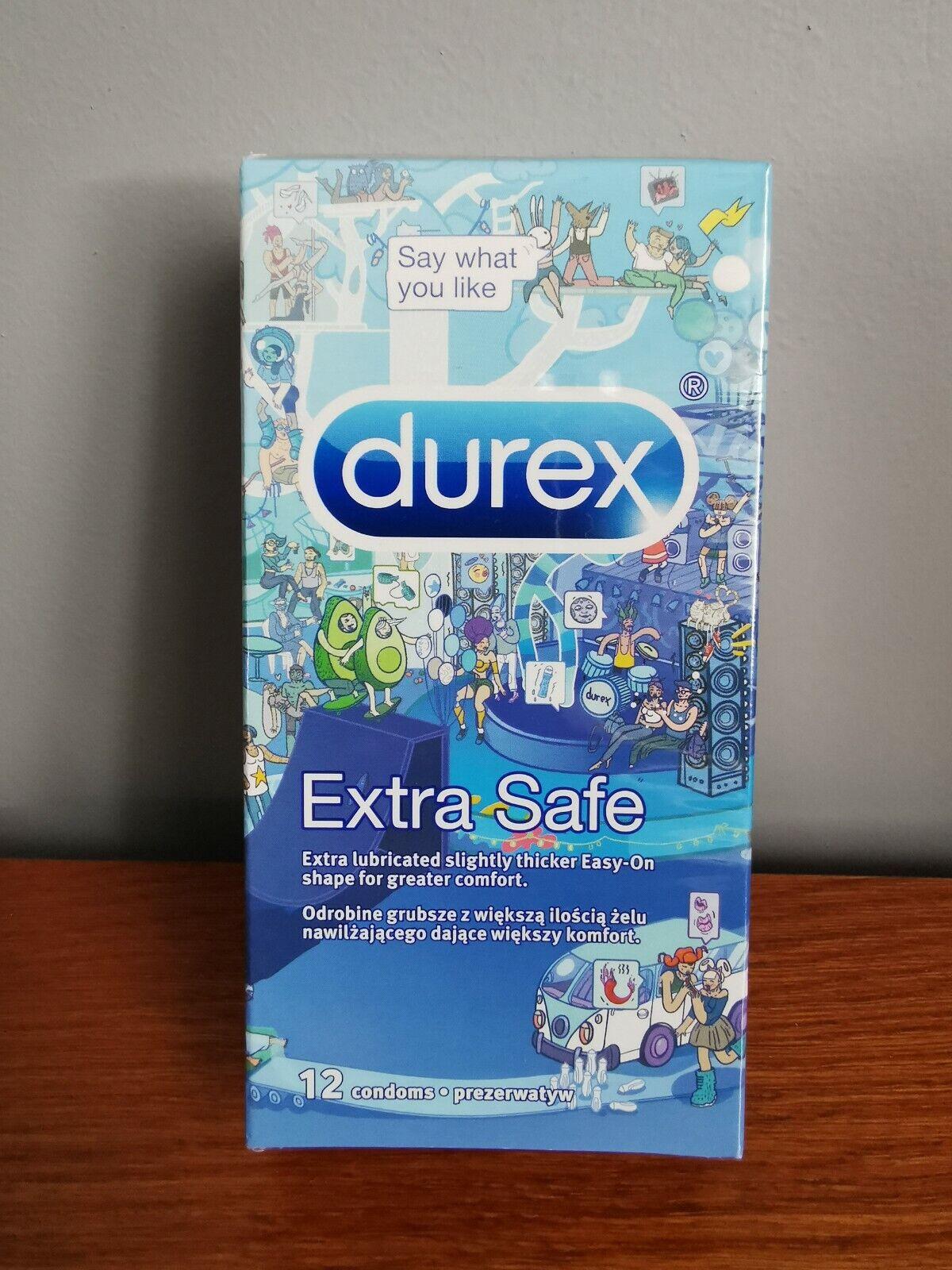 Durex Extra Safe Emoji 12 Kondome