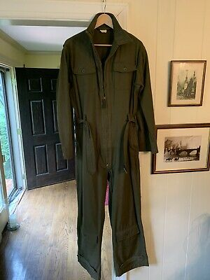 Vintage WW2 WWII Army Air Corps Summer Flying Suit AN-S-31, 44 Medium