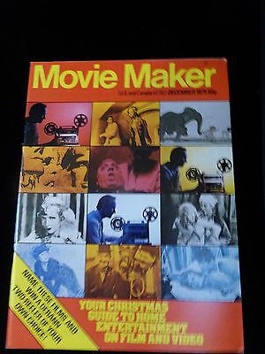 Movie Maker Magazine  December 1979  Like New