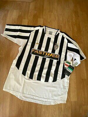JUVENTUS ITALY 2003/2004 HOME FOOTBALL SHIRT JERSEY Brand New! image