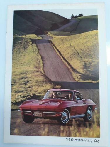 1964 Chevrolet Corvette Sting Ray brochure