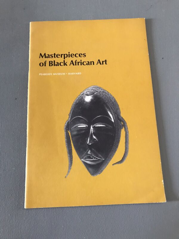RARE 1969 Masterpieces of Black African Art Peabody Museum - Harvard