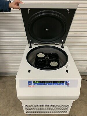 Thermo Scientific Sorvall Rg3 Centrifuge 75003433 W Tth 751 Rotor 4 Buckets