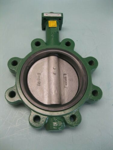 "6"" Crane Center Line Series 200 Lug Butterfly Valve DI/DI/BUNA NEW P29 (2524)"