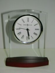 Howard Miller 645-580 Marcus Desk or Table Quartz Alarm Clock In Original Box