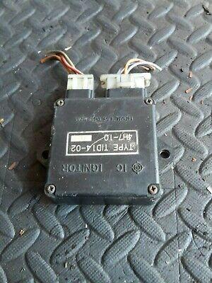<em>YAMAHA</em> MAXIM 650 1989 ENGINE ECU CDI UNIT TYPE TID14 02