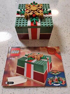 Used Lego 40292 Buildable Holiday Present Christmas Gift Set
