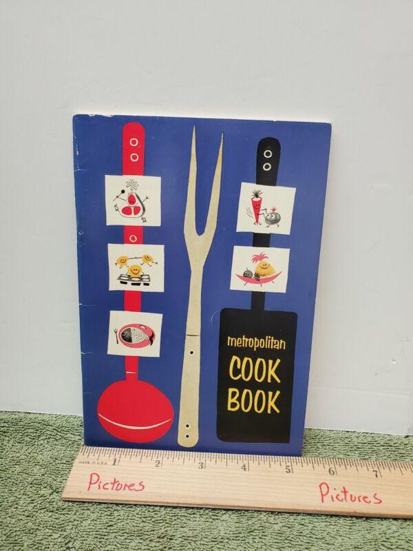 Vintage 1957 METROPOLITAN COOK BOOK -  Metropolitan Life Insurance Co. (MetLife)